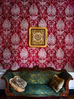 il divano del salotto