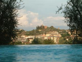 Castelfiorentino view from the pool