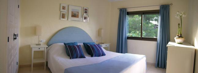 King size double bed can be seperated into 2 singles. Fitted wardrobe. Air-conditioning