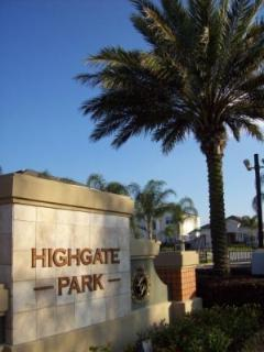 Gated entrance to Highgate Park