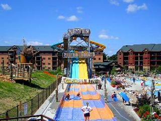 Wilderness Wisconsin Dells Glacier Canyon Waterpark Resort - Sleeps 10