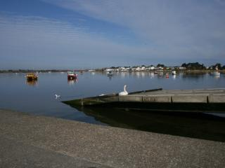 Sandhills has picturesque Christchurch Harbour to one side - and the sea on another