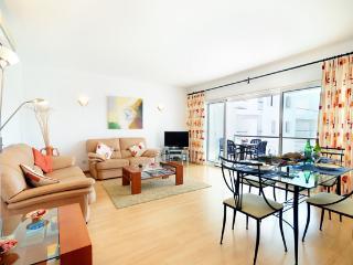 Spacious and modern lounge