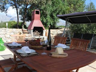 Barbecue area at Villa Palma