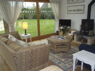 Daubeneys Shippon sitting room with TV, broadband and wood-burning stove