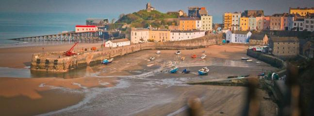 View, only 2 miles away. Tenby harbour