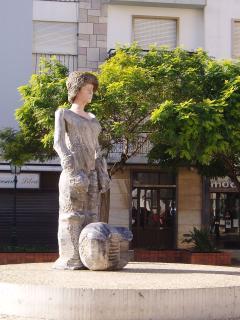 Statue of King D. Sebastião