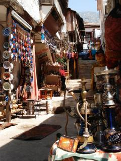 One of Kalkan's many fascinating shops