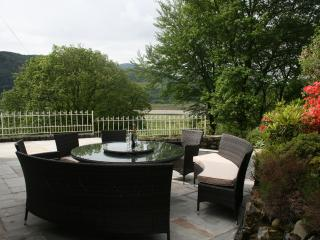 Self catering house, Snowdonia, Wales,  Mawddach estuary VIEWS, near beaches, Bontddu