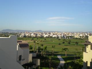 View of golf course from apartment