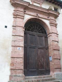 The Ancient main door