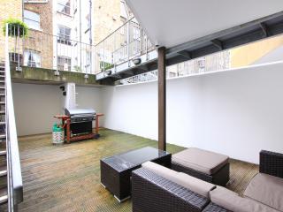 Front courtyard (basement level)