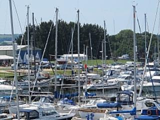 Wonderful busy marina always with lots going on.
