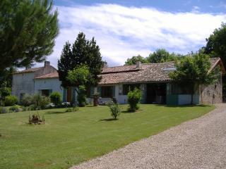 Front garden, house, adjoining gite & games room