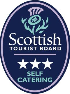 3 Star Quality Assurance Grade from the Scottish Tourist Board.