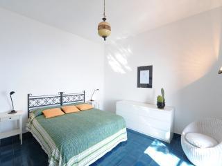 La Praia double bedroom with view of the Mediterranean sea
