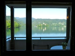 View from the living room - Panorama Apartments Bled