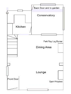 The downstairs floor plan ... thought this might be helpful