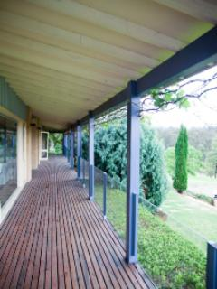 Wrap around verandah