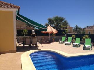 Mazarron Country Club villa, Wi-Fi, Pool & Air Con