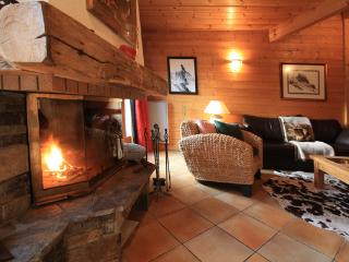Cosy warm fire area