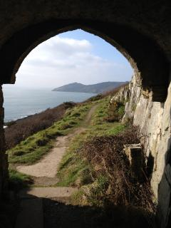 Rame Head, walk from Wood Park on the South West Coast Path