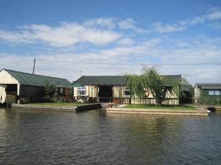 The Little House on the River has a 60 ft river frontage