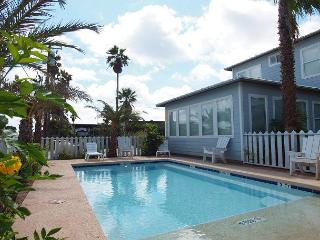 10 bedrooms, private pool, steps to the beach and sleeps 24!