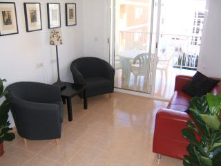 Las Brisas top apartment, roof terrace, near beach, Puerto de Mazarron