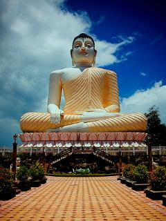 Kande Vihara- Buddhist Temple with famous 108 ft statue of Lord Buddha