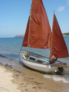 Would you like a free Sailing Lesson or just a trip around the Bay with the Motor? just ask.