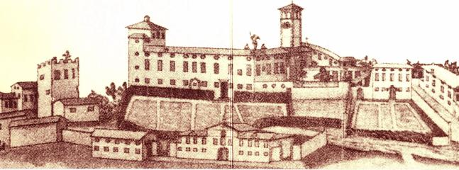 Drawing of castle of the 18th Century