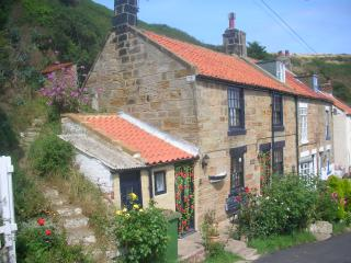 The cottages - No3 with the white bay window