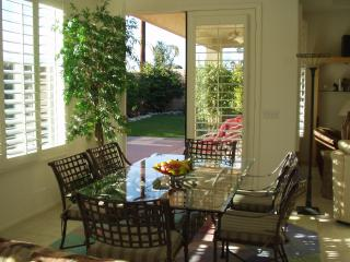 Indoor Dining Table & Back Patio