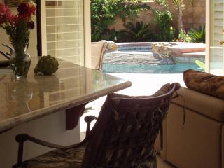 Interior Opens Directly Onto Pool