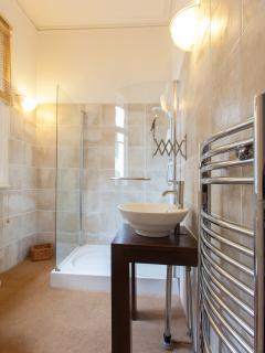 The first floor bathroom - contemporary and luxurious style
