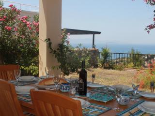 Dine Al-fresco on the Terrace and enjoy the Sea Views