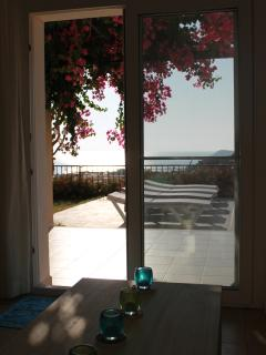Views of the Sea from the Lounge