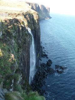 Kilt Rock and the Mealt Falls