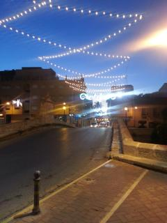 Nearby Rojales in the evening
