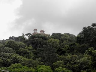 Palace Monserrate, view from the terrace