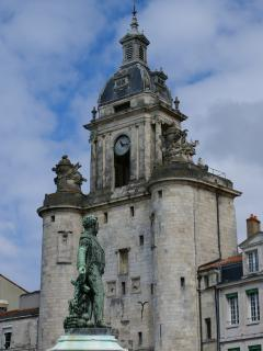 La Rochelle old clock