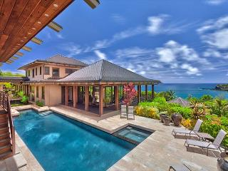 Ocean Views with Pool and Hot Tub, Koi Ponds and More!