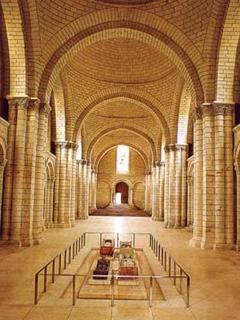 Tombs at Fontevraud abbey