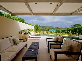 Beautiful spacious private villa on the hillside with ocean views WV ACE, St. Jean