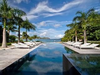 Stunning contemporary villa located right off the beach WV ABV, St. Barthelemy