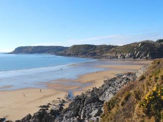 Caswell Bay from the Coastal Path
