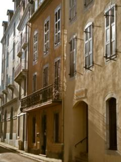 A street in Bagnères-de-Bigorre