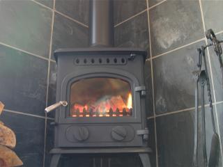 Cosy logburner