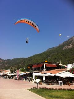 Paragliding from Babadag